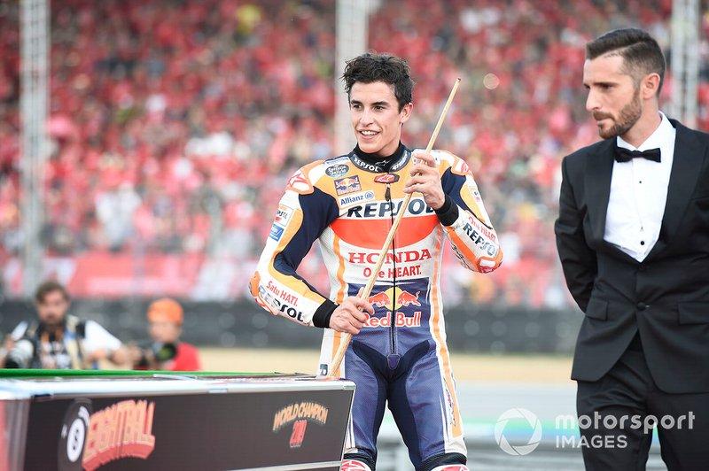 World Champion Marc Marquez, Repsol Honda Team celebration