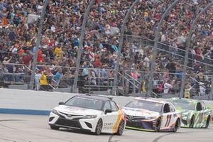 Toyota Camry Pace Car, Denny Hamlin, Joe Gibbs Racing, Toyota Camry FedEx Express, Kyle Busch, Joe Gibbs Racing, Toyota Camry Interstate Batteries