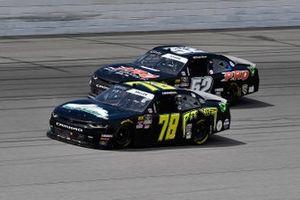 Vinnie Miller, B.J. McLeod Motorsports, Chevrolet Camaro Koolbox and David Starr, Means Motorsports, Chevrolet Camaro ATS