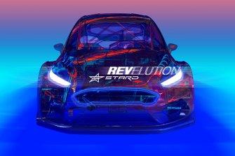 "STARD Ford Fiesta ELECTRX, ""projekt E"" rallycross EV demonstration car"