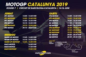 Jadwal MotoGP Catalunya 2019