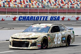 Jimmie Johnson, Hendrick Motorsports, Chevrolet Camaro Ally Patriotic