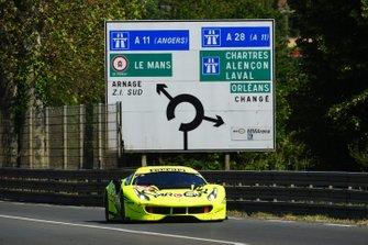 #57 Car Guy Racing Ferrari 488 GTE: Takeshi Kimura, Kei Francesco Cozzolino, Come Ledogar