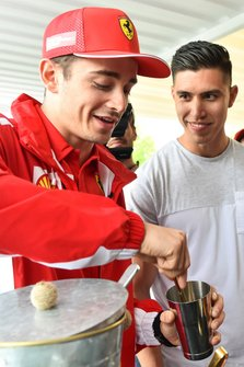 Charles Leclerc, Ferrari at Shell House