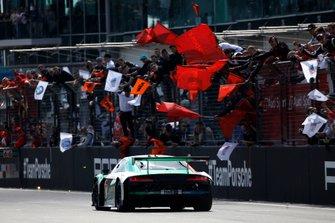 Race winner #4 Audi Sport Team Phoenix Audi R8 LMS: Pierre Kaffer, Frank Stippler, Frédéric Vervisch, Dries Vanthoor