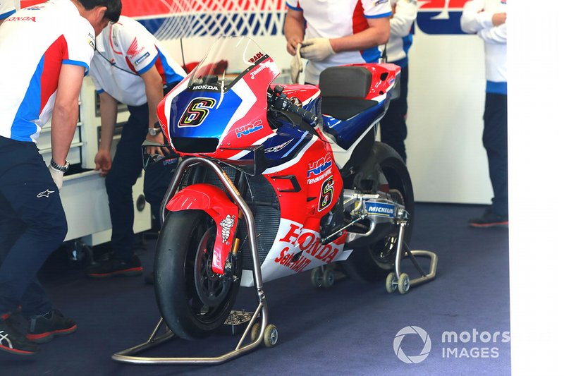 Bike of Stefan Bradl, HRC Honda Team