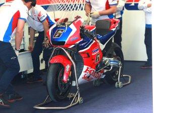 Motor van Stefan Bradl, HRC Honda Team