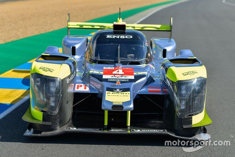 LMP1: #4 ByKolles Racing Team, CLM-Nissan P1/01