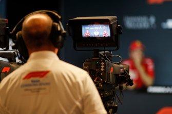 Camera man in Press Conference