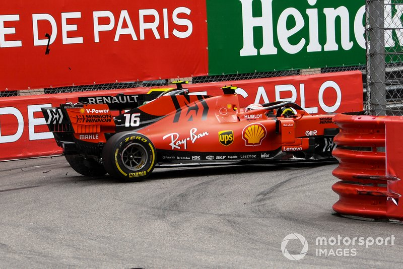 GP de Mónaco: Retiro