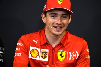 Charles Leclerc, Ferrari in Press Conference