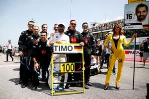100th race for Timo Glock, BMW Team RMG