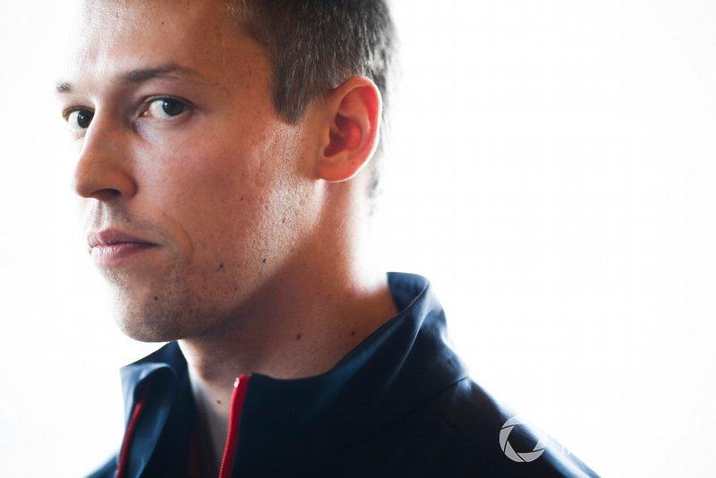 Daniil Kvyat, Toro Rosso con los medios