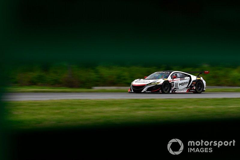 #80, Acura NSX, Martin Barkey and Kyle Marcelli
