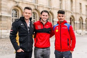 Andre Lotterer, DS TECHEETAH, Daniel Abt, Audi Sport ABT Schaeffler, en Pascal Wehrlein, Mahindra Racing