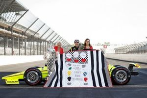 Simon Pagenaud, Team Penske Chevrolet and the quilt lady