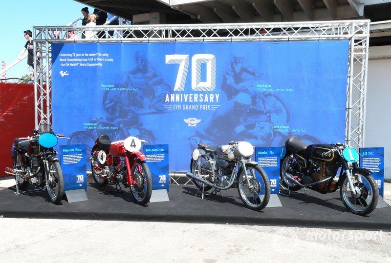 70th anniversary of GP display