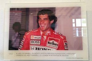 Exposición Ayrton Senna 25 años 25 imagenes ineditas