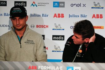 Mitch Evans, Panasonic Jaguar Racing, Oliver Rowland, Nissan e.Dams, in the press conference