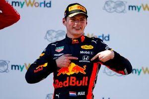 Max Verstappen, Red Bull Racing, vainqueur