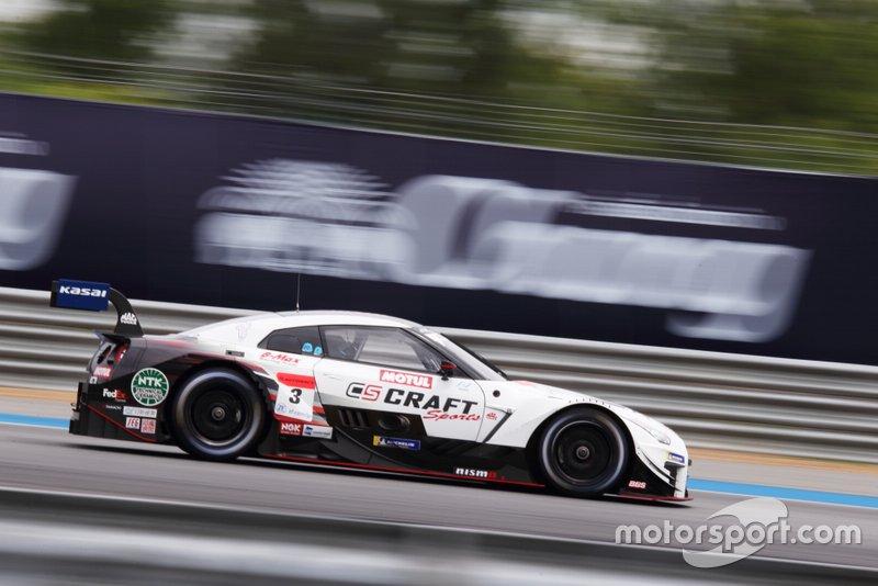 """#3 Nissan GT-R (NDDP mit B-Max) - Frederic Makowiecki (FRA/38) & Kohei Hirate (JPN/33): 2018 war Fred """"Makos"""" Jahr, als der Porsche-Werksfahrer die GT-Klassiker auf der Nordschleife, in Sebring und Road Atlanta gewann. In Le Mans wurde er dreimal Zweiter. Ex-Toyota-Formel-1-Tester Hirate war 2013 und 2016 - mit Kovalainen - Super-GT-Meister."""