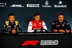 Max Fewtrell, ART Grand Prix, Marcus Armstrong, PREMA Racing, and Juri Vips, Hitech Grand Prix