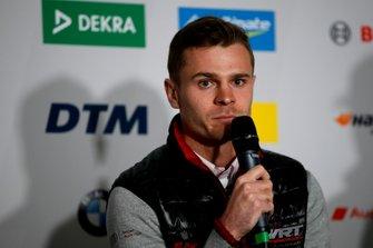 Press Conference, Jonathan Aberdein, Audi Sport Team WRT