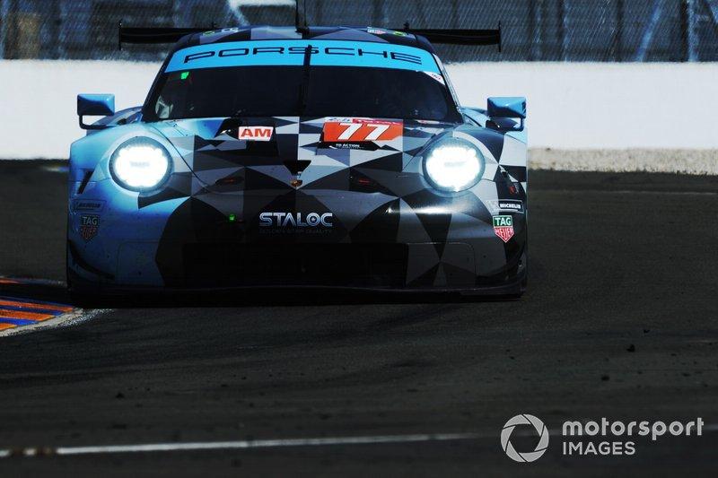 #77 Porsche 911 RSR / DEMPSEY: PROTON RACING: Matt Campbell, Christian Ried, Julien Andlauer