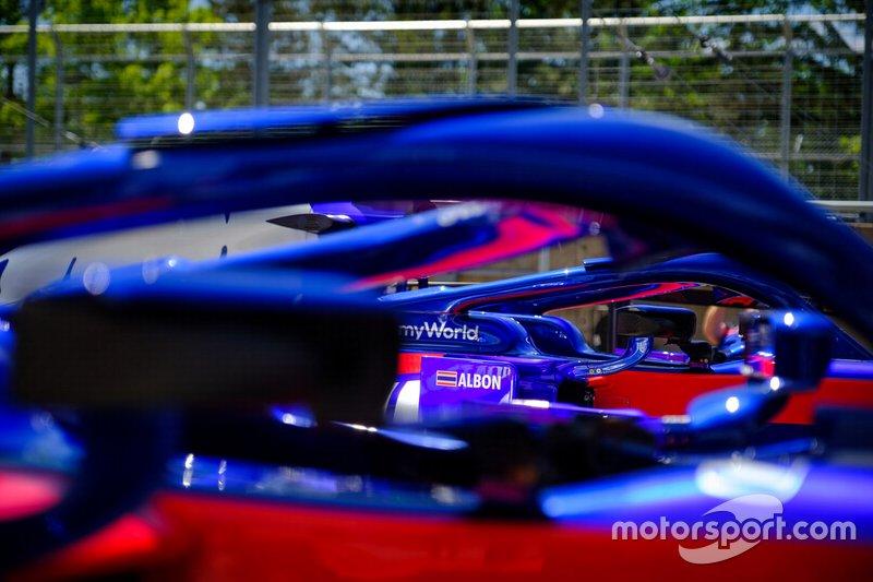 Car of Alex Albon, Toro Rosso STR14
