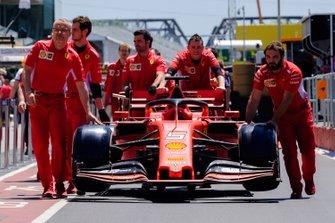 Wagen van Sebastian Vettel, Ferrari SF90