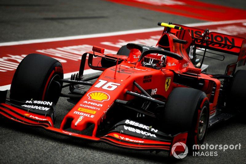 5 місце — Шарль Леклер, Ferrari. Умовний бал — 24,72