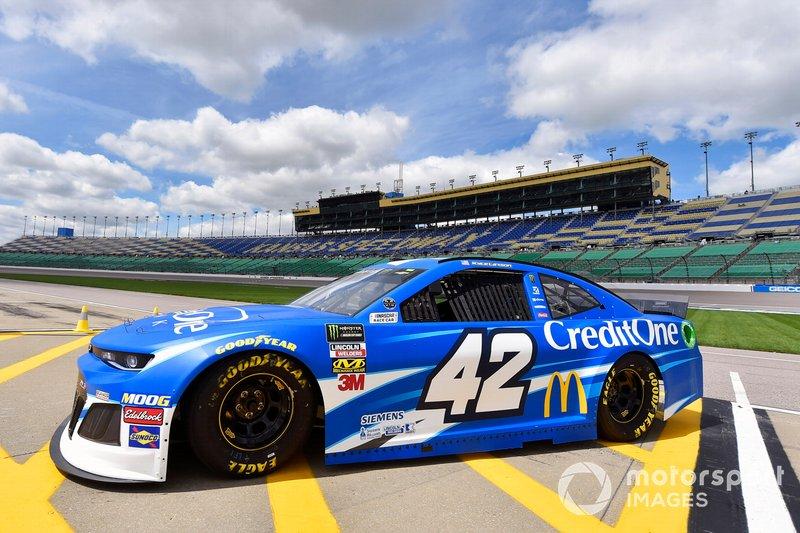 8. Kyle Larson, Chip Ganassi Racing, Chevrolet Camaro