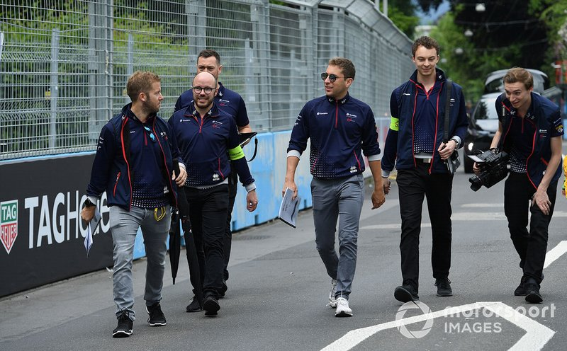 Sam Bird, Envision Virgin Racing, Robin Frijns, Envision Virgin Racing, walk the track