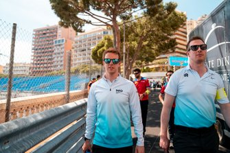 Oliver Turvey, NIO Formula E Team, walks the track