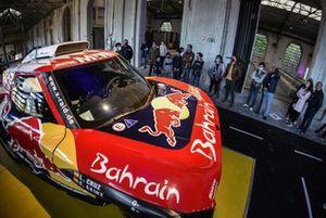 Exposición de coches de Carlos Sainz en Oviedo