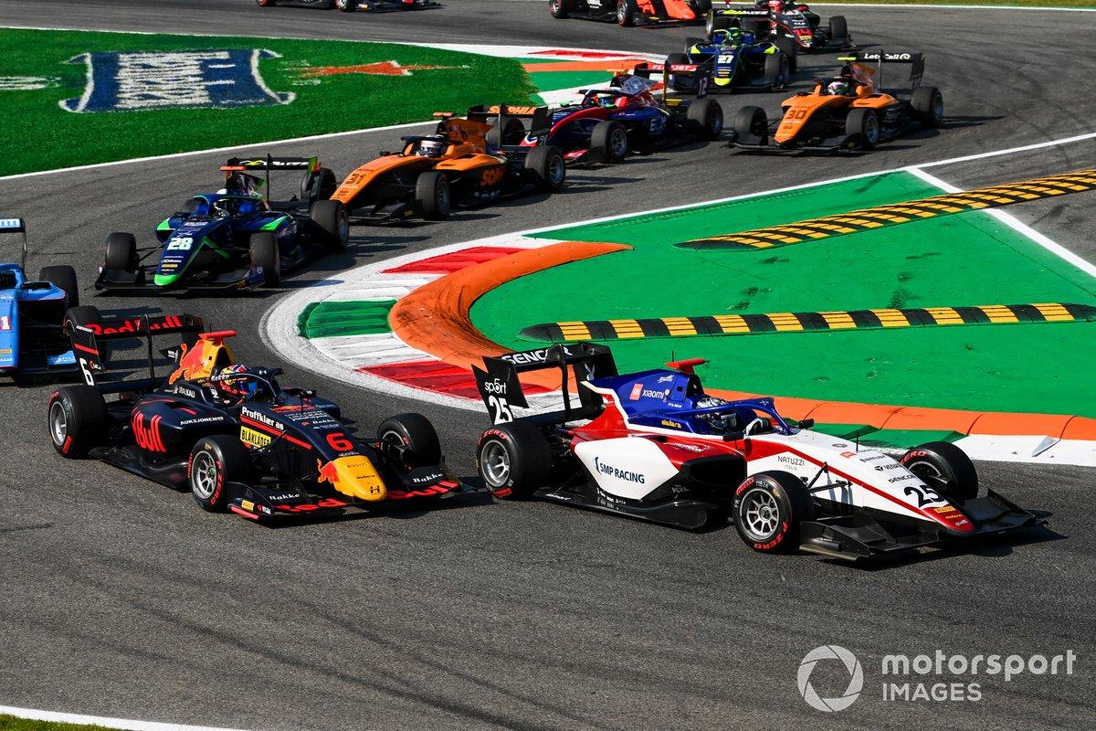 Michael Belov, Charouz Racing System e Dennis Hauger, Hitech Grand Prix