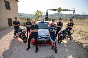 Luca Marini, Marco Bezzecchi, Sky Racing Team VR46, Riccardo Scandola e Umberto Scandola, Hyundai Motorsport, Celestino Vietti ed Andrea Migno, Sky Racing Team VR46