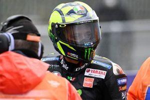 падение Валентино Росси,, Yamaha Factory Racing crash