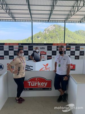 Terenzio Testoni, Pirelli WRC Direktörü, İnci Beğen, Cihangir Perperik