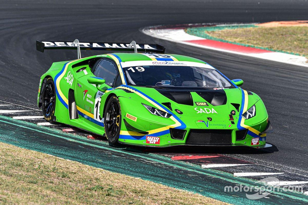 Leonardo Pulcini, Raffaele Giammaria, Nemoto Yuki, Vincenzo Sospiri Racing, LAMBORGHINI HURACAN GT3
