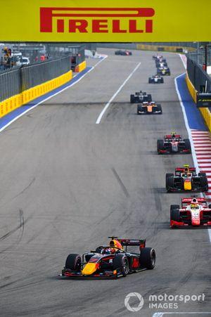 Yuki Tsunoda, Carlin Mick Schumacher, Prema Racing Jehan Daruvala, Carlin
