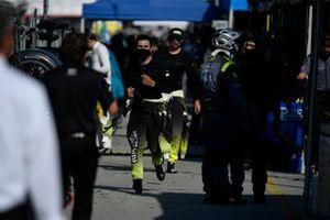 #14 AIM Vasser Sullivan Lexus RC-F GT3, GTD: Daniel Morad