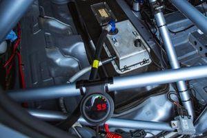 Задняя часть салона Audi RS3 TCR