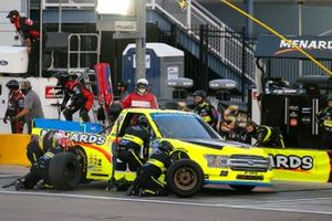 Matt Crafton, ThorSport Racing, Ford F-150 Black Label Bacon/Menards pit stop