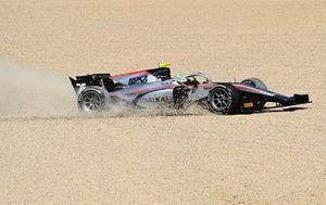 Luca Ghiotto, Hitech Grand Prix sobre la grava