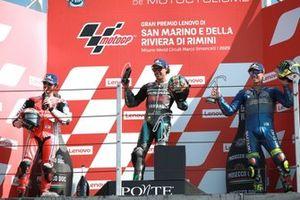 Francesco Bagnaia, Pramac Racing Franco Morbidelli, Petronas Yamaha SRT Joan Mir, Team Suzuki