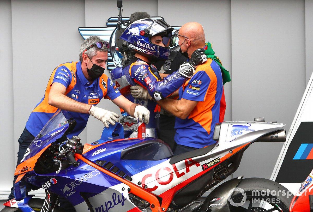 Ganador Miguel Oliveira, Red Bull KTM Tech 3