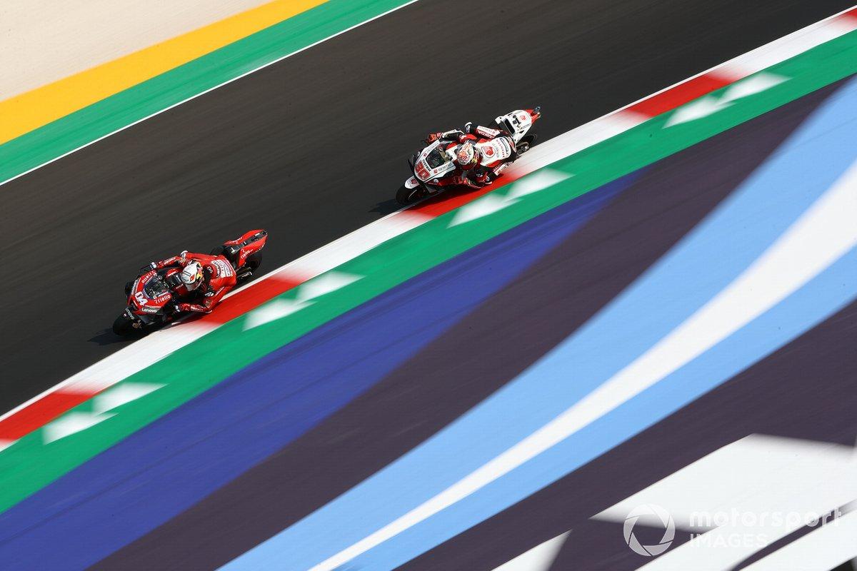 Andrea Dovizioso, Ducati Team, Takaaki Nakagami, Team LCR Honda