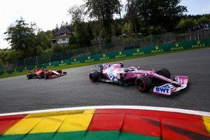 Lance Stroll, Racing Point RP20, Charles Leclerc, Ferrari SF1000