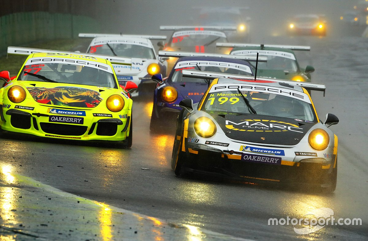 Última etapa do Porsche Cup registrou chuva em Interlagos